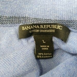 Banana Republic Sweaters - Banana Republic Cotton Cashmere Sweater Men's L